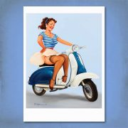 Going Places! Pin-Up Print