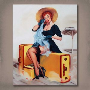 Welcome Traveller Oil Painting