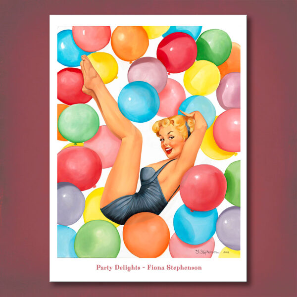 Party Delights Print Fiona Stephenson
