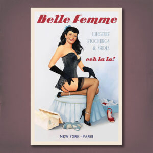 Right Fit Belle Femme Cover Print Fiona Stephenson