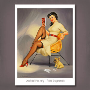 Unsolved Miss-tery Print Fiona Stephenson